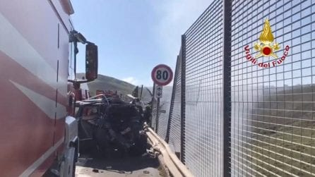 Incidente in A19: muore pm Giovanni Romano