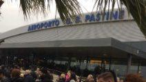 Evacuato l'aeroporto di Ciampino per un incendio