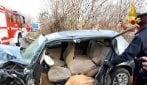 Montella, tremendo incidente sulla statale tra 4 veicoli, 3 feriti