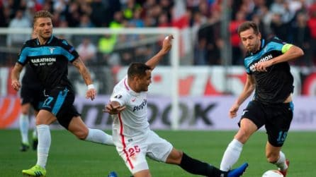 Europa League, le immagini più belle di Siviglia-Lazio