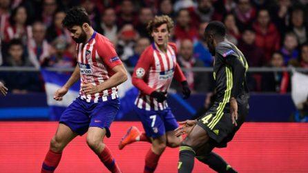 Champions League, le immagini di Atletico Madrid-Juventus