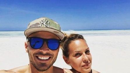 Le foto di Claudia Dionigi e il suo ex fidanzato Francesco Battista