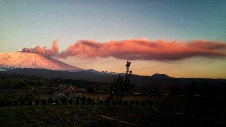 Etna in eruzione: le immagini del vulcano
