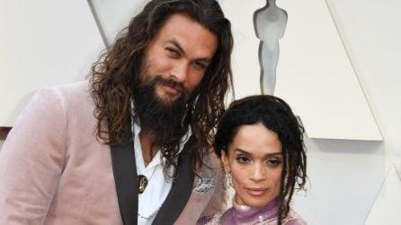 Le foto di Jason Momoa e Lisa Bonet agli Oscar 2019