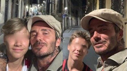 Le foto di David Beckham e dei suoi figli