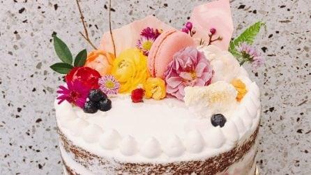 Naked Cake, le torte nude sono il trend del momento