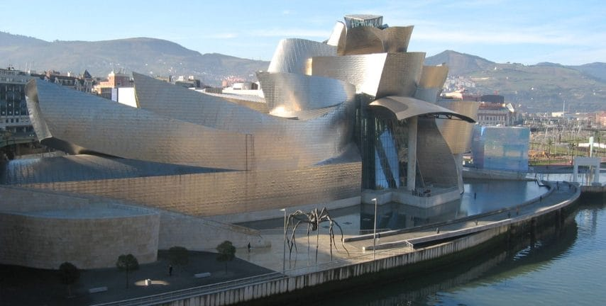 Frank Owen Gehry, Guggenheim Museum di Bilbao, 1991-1997. Bilbao, Spagna.