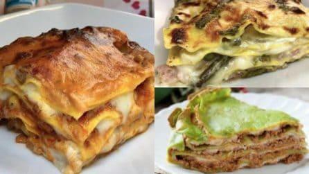 Chi non ama la lasagna? Ecco alcune gustose e alternative ricette per prepararla