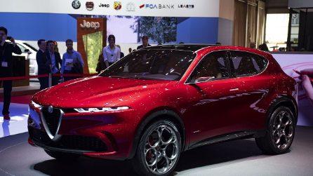 Il nuovo concept Alfa Romeo, la Tonale sarà il SUV ibrido plug-in