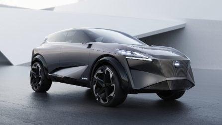 Elettrico e futuristica, Nissan svela il concept IMQ