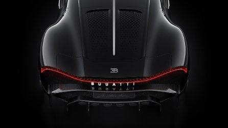 Bugatti La Voiture Noire, omaggio alla Type 57 SC Atlantic