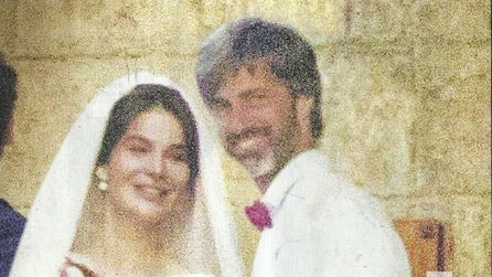 Le foto del matrimonio di Kim Rossi Stuart e Ilaria Spada