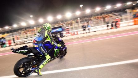 MotoGP, le foto di Valentino Rossi in Qatar