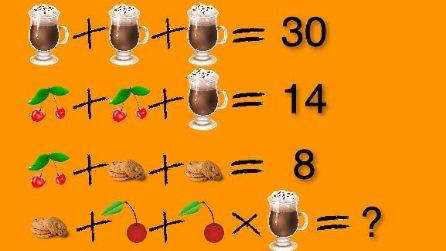 L'espressione matematica in cucina: il risultato non è semplice quanto sembra