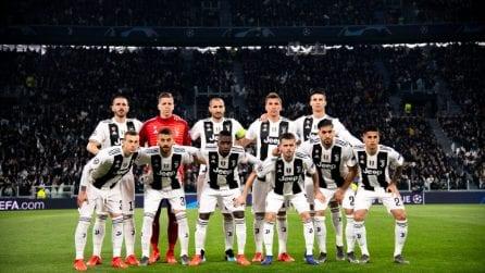 Champions League, le immagini di Juventus-Atletico Madrid