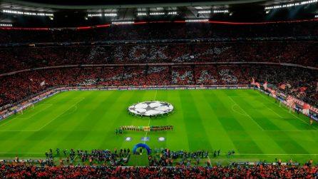 Champions League, le immagini di Bayern Monaco-Liverpool