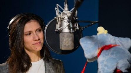 Dumbo di Tim Burton, Elisa presta la voce a Miss Atlantis e intona la ninna nanna 'Bimbo mio'