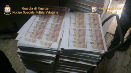 Pomigliano, la Guardia di Finanza scopre stamperia di soldi contraffatti con 36 milioni di euro