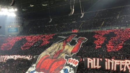 Serie A 2018/2019, le immagini del derby Milan-Inter