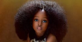 Jare Ijalana, la bambina più bella del mondo è nigeriana