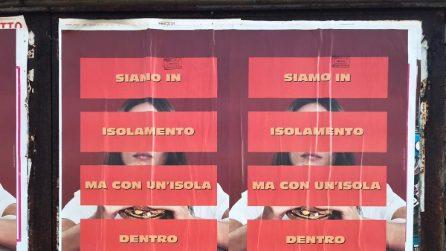 Manifesti misteriosi sui muri di Roma e Milano: una campagna virale, ma per cosa?