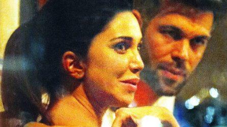 Belen Rodriguez e Bruno Cerella a cena insieme