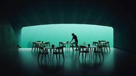 A tavola tra i pesci: apre il primo ristorante subacqueo d'Europa