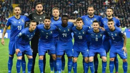 Qualificazioni Euro 2020, le immagini di Italia-Finlandia