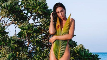 Cecilia Rodriguez, i look per la vacanza alle Maldive con Ignazio Moser