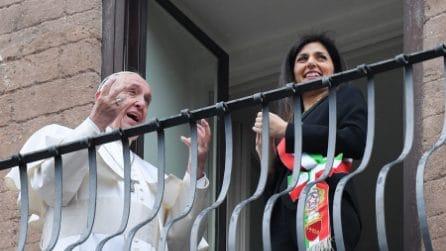 Papa Francesco in Campidoglio: l'incontro con Virginia Raggi
