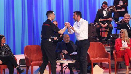 Le foto della prima puntata del Maurizio Costanzo Show del 28 marzo 2019
