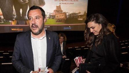 Le foto di Francesca Verdini e Matteo Salvini