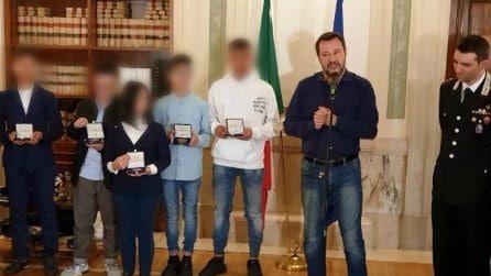 Bus dirottato, Salvini riceve Ramy a gli altri ragazzini al Viminale