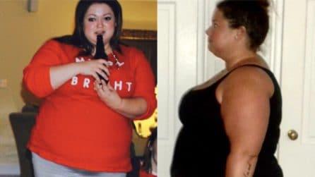 Stanca di vedersi in sovrappeso decide di dimagrire: la trasformazione è incredibile