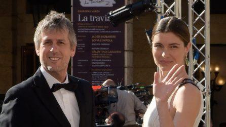 Le foto di Vittoria Puccini con il compagno Fabrizio Lucci