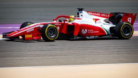 Mick Schumacher debutta in Formula 2, il tedesco in pista in Bahrain