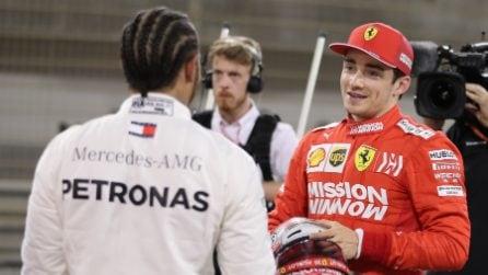 Leclerc da record, è il più giovane poleman nella storia della Ferrari