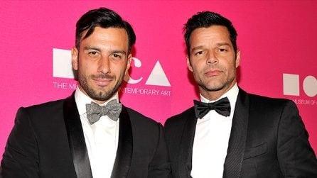 Le foto di Ricky Martin e Jwan Yosef