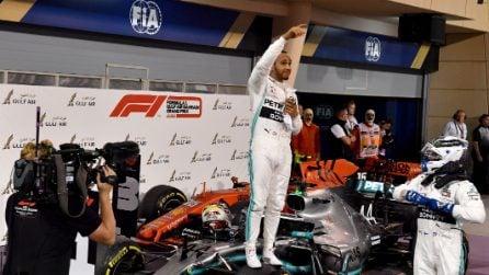 La sfortuna si accanisce sulla Ferrari, in Bahrain è ancora doppietta Mercedes