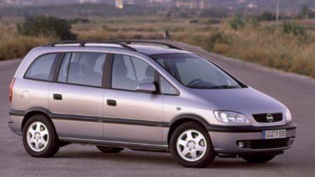 Opel Zafira, la monovolume tedesca compie 20 anni