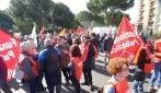 Manifestazione a Torre Maura: in 500 tra Anpi e sindacati contro 50 militanti di Casa Pound