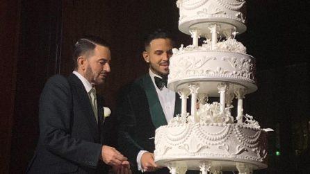 Il matrimonio di Marc Jacobs e Char Defrancesco