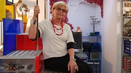 La designer Alba Rosa Mancini ci apre le porte della sua casa napoletana