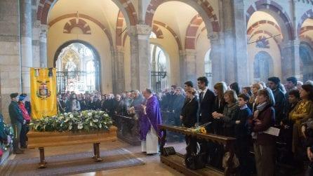 Le foto dei funerali di Cesare Cadeo