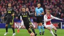 Champions League, le immagini di Ajax-Juventus