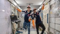 Marquez e Lorenzo allo Space Center di Houston