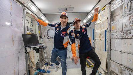 Marquez e Lorenzo allo Space Center di Houston