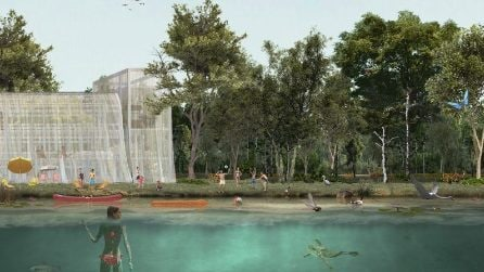 Milano, un grande bosco e un lago: il nuovo volto degli ex scali ferroviari Farini e San Cristoforo
