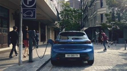 La nuova Peugeot e-208 si svela alla Milano Design Week