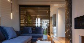 POM Glass: plasmare la luce con pareti di vetro, ferro e legno